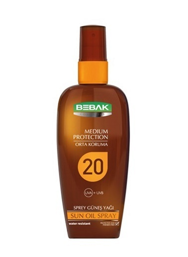 Bebak Bebak Sun Oil Spray SPF20 150ml Renksiz